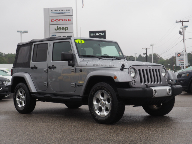 Certified Pre Owned 2015 Jeep Wrangler Unlimited Sahara