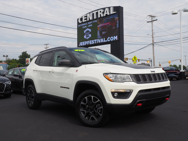 2019 Jeep Compass Trailhawk: Design, Mechanics, Price >> Pre Owned 2019 Jeep Compass Trail Hawk 4wd