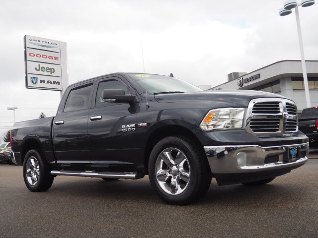 Ram Big Horn >> Pre Owned 2016 Ram 1500 Big Horn 4x4 Big Horn 4dr Crew Cab 5 5 Ft