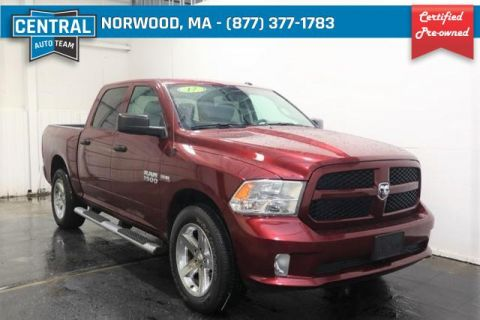 Certified Pre-Owned 2017 Ram 1500 4x4 Crew Cab 5'7 Box