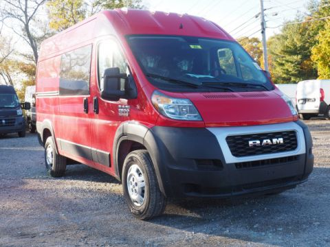New 2019 RAM ProMaster 2500 136 WB